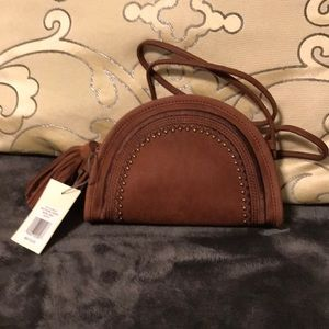 🍀Lucky Brand small Rye crossbody with tassel